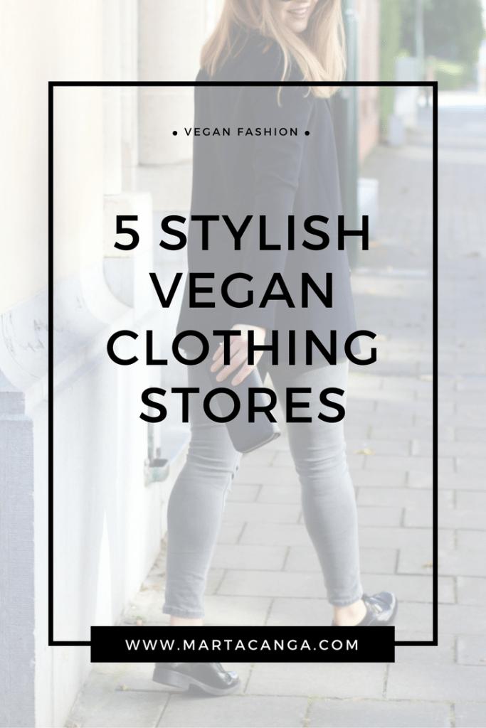 5 Stylish Vegan Clothing Stores