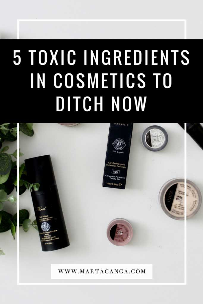 5 Toxic Ingredients In Cosmetics To Ditch Now