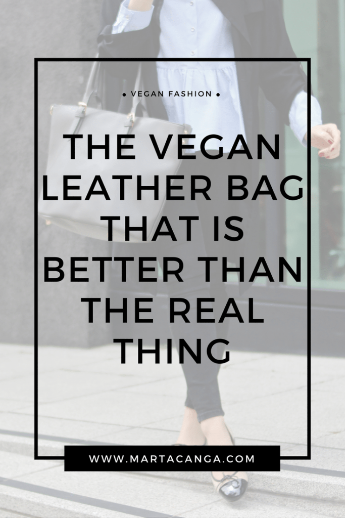 The Vegan Leather Bag That Is Better Than The Real Thing